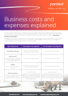 Business cost and expenses explained 141x199