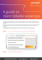 Client billable expenses140x199